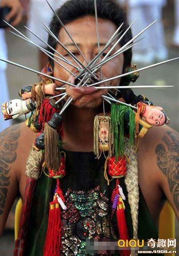 Những màn biểu diễn kinh hoàng tại Thái Lan, Phi thường - kỳ quặc,